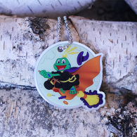 Signal the Frog® Halloween Travel Tag