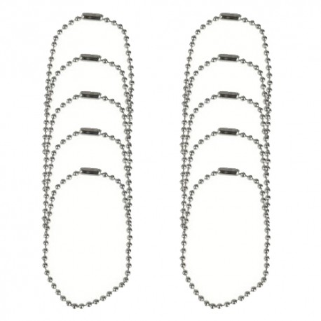Chaînette de remplacement 11cm - Lot de 10