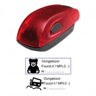Tampon 38x14mm - Stamp Mouse 20 Ruby