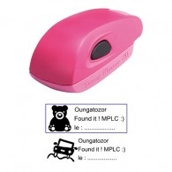 Tampon 38x14mm - Stamp Mouse 20 Rose