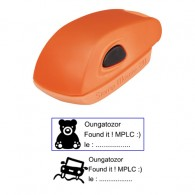 Tampon 38x14mm - Stamp Mouse 20 Orange