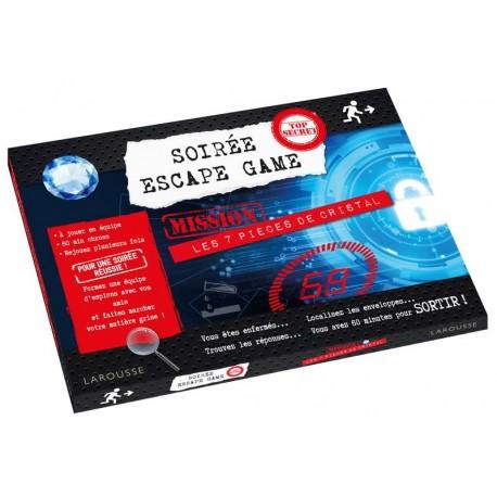 Soirée ESCAPE GAME : mission les 7 pièces de cristal