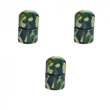 Nano Cache aimantée Camouflage x3 - Green Light