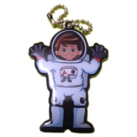 Wallace the Astronaut Travel Tag - Edition Limitée