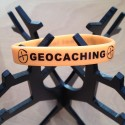 Geoband silicone Logo GC - Orange