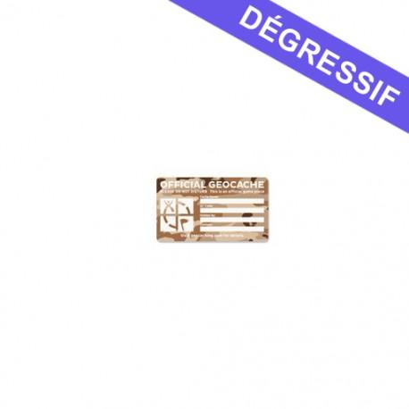 Small Cache Label - Desert Camo