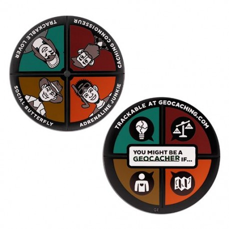 You Might Be a Geocacher If... Geocoin
