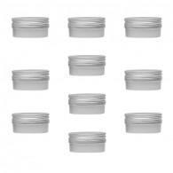 Micro Pastille aimantée Argent 3,6cm - Lot de 10
