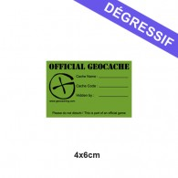 Sticker Geocache X-Small