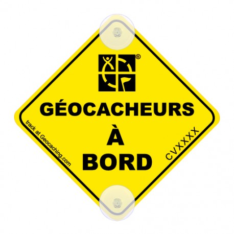 On the road! Trackable - Géocacheurs à bord