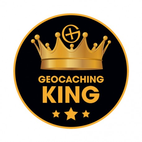 Sticker Geocaching King