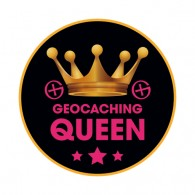 Sticker Geocaching Queen