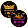 Stickers Geocaching King & Queen