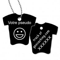 Tag T-Shirt avec votre pseudo - Noir