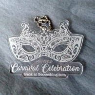Carnival Celebration Crystal Travel Tag