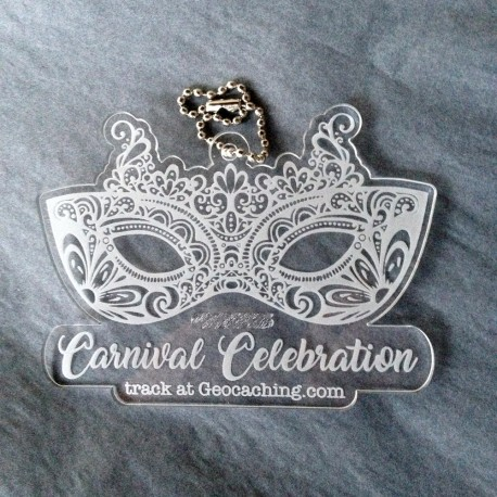 Carnival Celebration Crystal Travel Tag