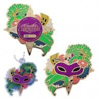 Cache Carnival Geocoin and Trackable Tag Set - (2 Trackables)