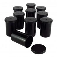 Film canister x10 - Noir