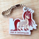 Legendary Dreams Travel Tag - Licorne