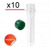 Pet Tube FTF 12cm - Lot de 10