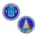 Original Blue Switch Geocoin - Limited Edition Silver Finish