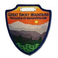 Great Smoky Mountains Trackable Patch