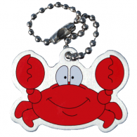 Connie the Crab Travel Tag