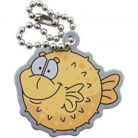 Pete the Puffer Fish Travel Tag