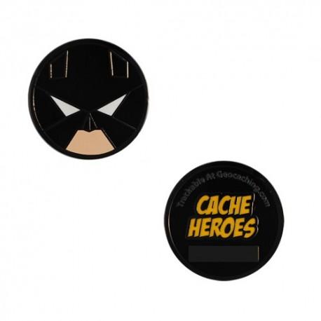 Cache Hero Micro Geocoin - Batman