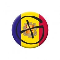 Badge Geocaching - Andorre
