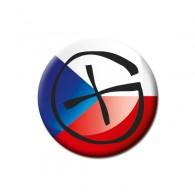 Badge Geocaching - République tchèque
