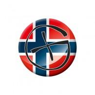 Badge Geocaching - Norvège