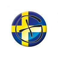 Badge Geocaching - Suède