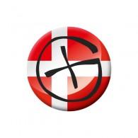 Badge Geocaching - Danemark