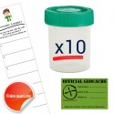 "Kit ""Prêt à poser"" Basic - Lot de 10"