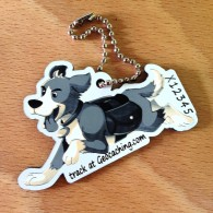 Little hiker Travel Tag - GeoDog