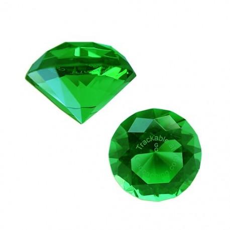 Trackable GeoGems™ - Emerald