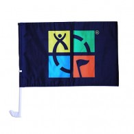 Geocaching Car Flag