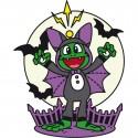 Signal the Frog™ Halloween Geocoin - Glow in the Dark (phosphorescent)