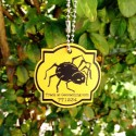 Geo Halloween Friends Travel Tag – Spider
