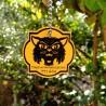 Geo Halloween Friends Travel Tag - Cat