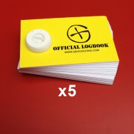 "Mini ""Official Logbook"" x5"