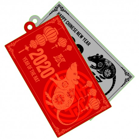 2020 Year of the Rat Travel Tag - Édition Limitée