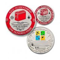 Geo Achievement® 100 Finds + Pin's + Ecrin