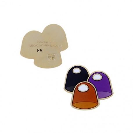 Micro Candy Geocoin - Gum Drop