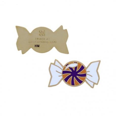 Micro Candy Geocoin - Butterscotch