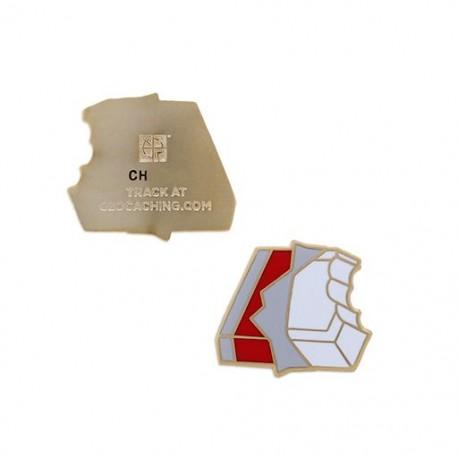 Micro Candy Geocoin - White Chocolate