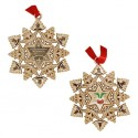 Snowflake Ornament Geocoin - Signal in the Chimney
