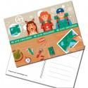 "Carte Postale ""We Love Geocaching!"""
