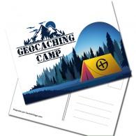 "Carte Postale ""Geocaching Camp"""